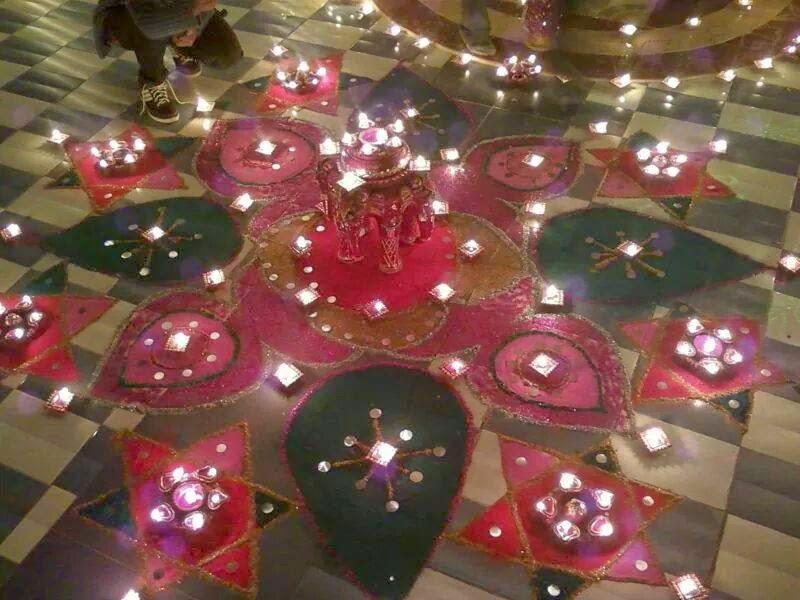 Kolam for Diwali 13