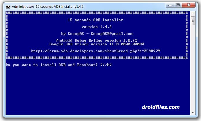 Download 15 Seconds ADB Installer v1.4.2
