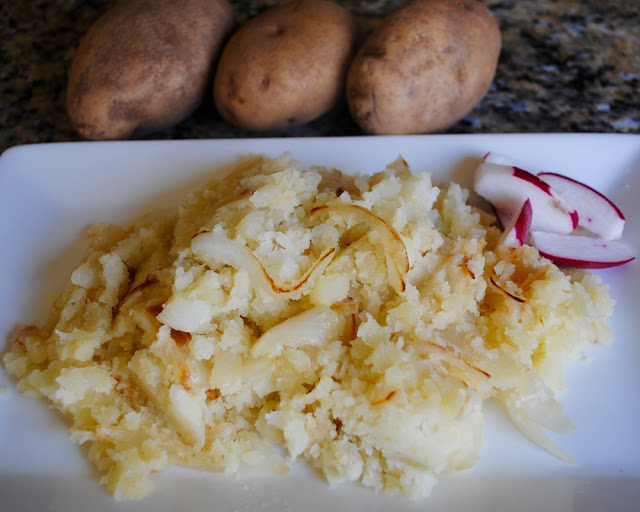 Mashed Potatoes And Caramelized Onions Recipe