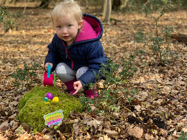 On a Moshi Monster Easter Egg Hunt in the Forest