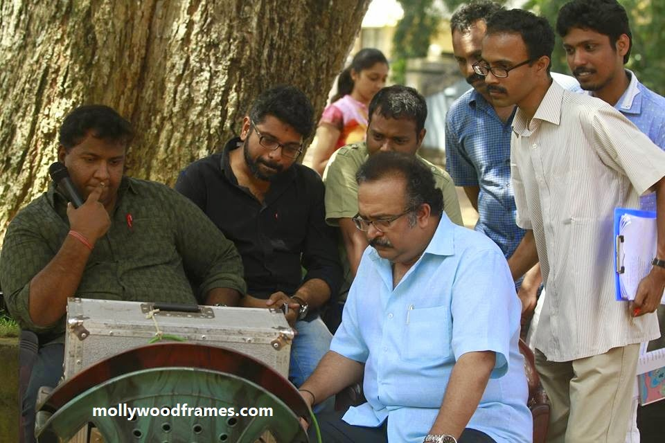 Rajesh Pillai and Mahesh Narayanan on location