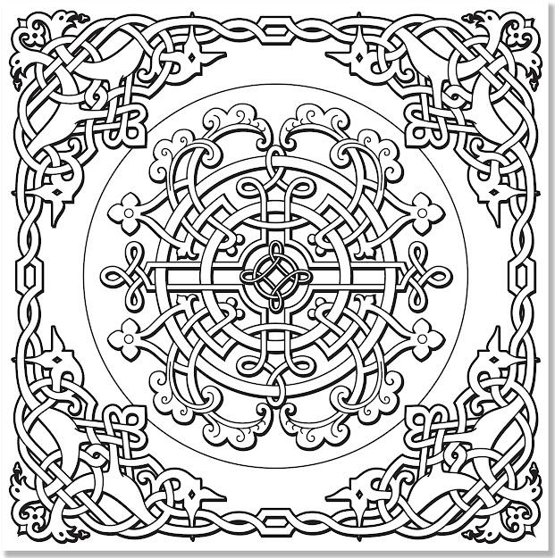 Amazon Celtic Designs Adult Coloring Book  Stressrelieving Designs  Studio  Peter Pauper Press Books