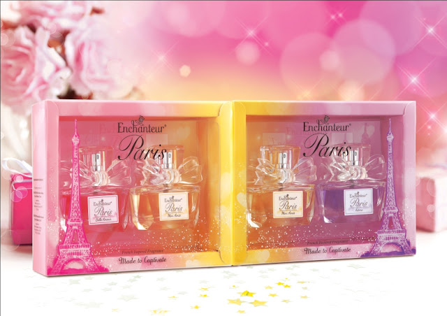 Set Hadiah EDT Mini Enchanteur Paris