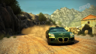 Colin McRae: DiRT 2 HD Background