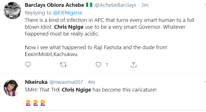 Social Media On Fire As Nigerians Roast Buhari's Minister For Saying