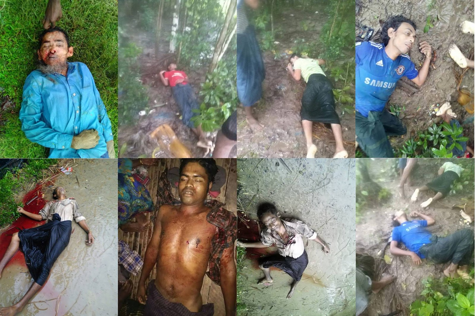 Rohingyas Killed