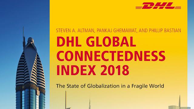 Índice de Conectividade Global da DHL: Globalização atinge novo recorde