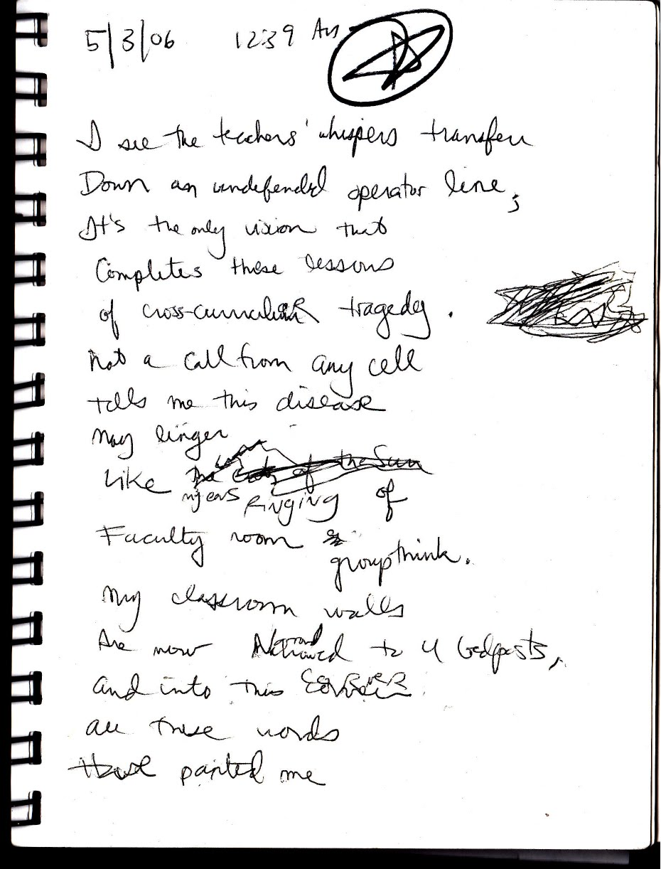 My Life Scanned Poem From 5306 1239 Am