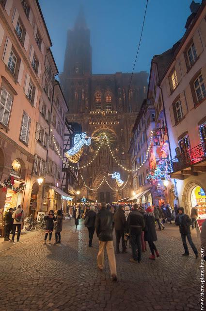 Estrasburgo Navidad Catedral