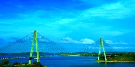 Jembatan Barelang di Batam tempat wisata alam batam