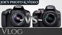 Canon Rebel T6 (1300D) vs. Nikon D3300 - Buyers Comparison | Vlog