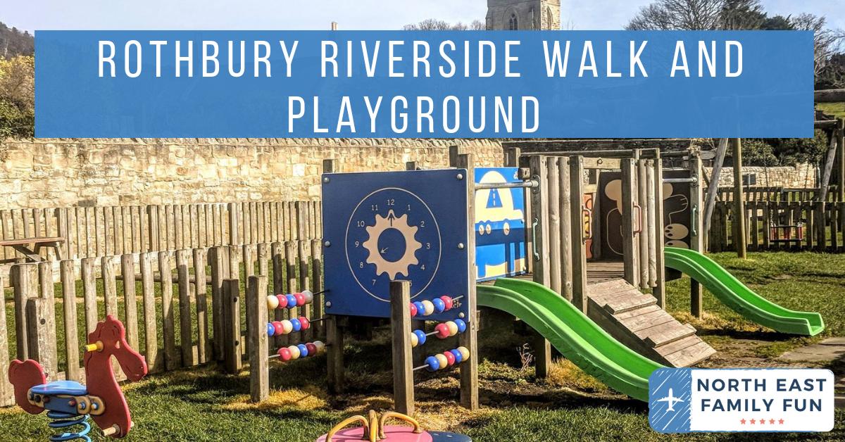 Rothbury Riverside Walk, Picnic Spots & Playground