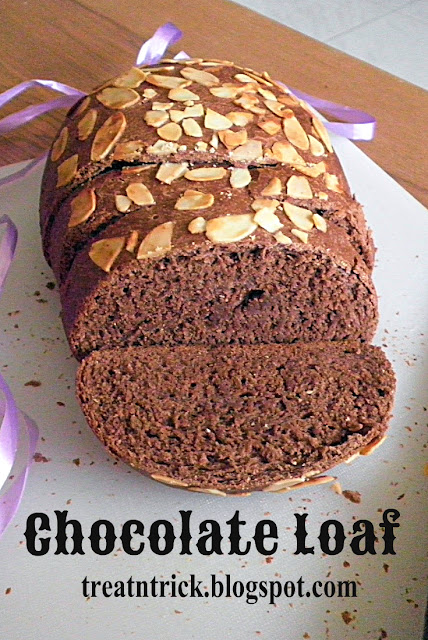 Chocolate Loaf Recipe @ treatntrick.blogspot.com