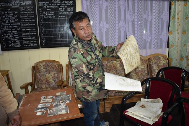 Rabindranath museum Mungpoo doccuments found