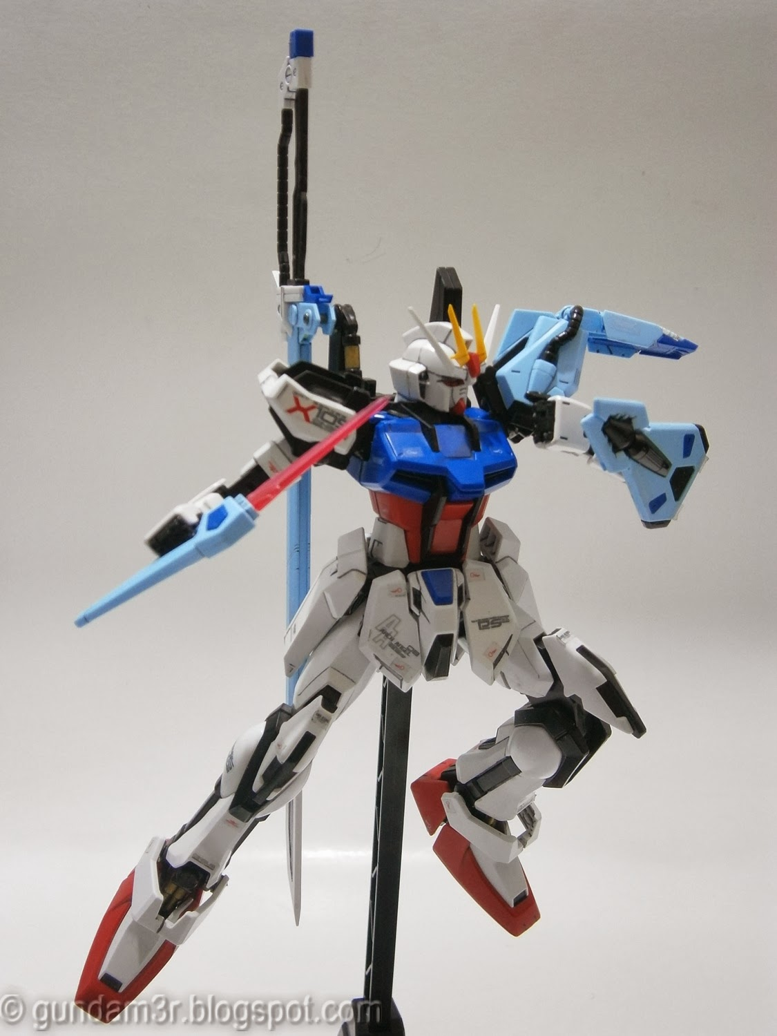 Launcher Sword Strike Gundam Mg Review Part 3 Gundam3r