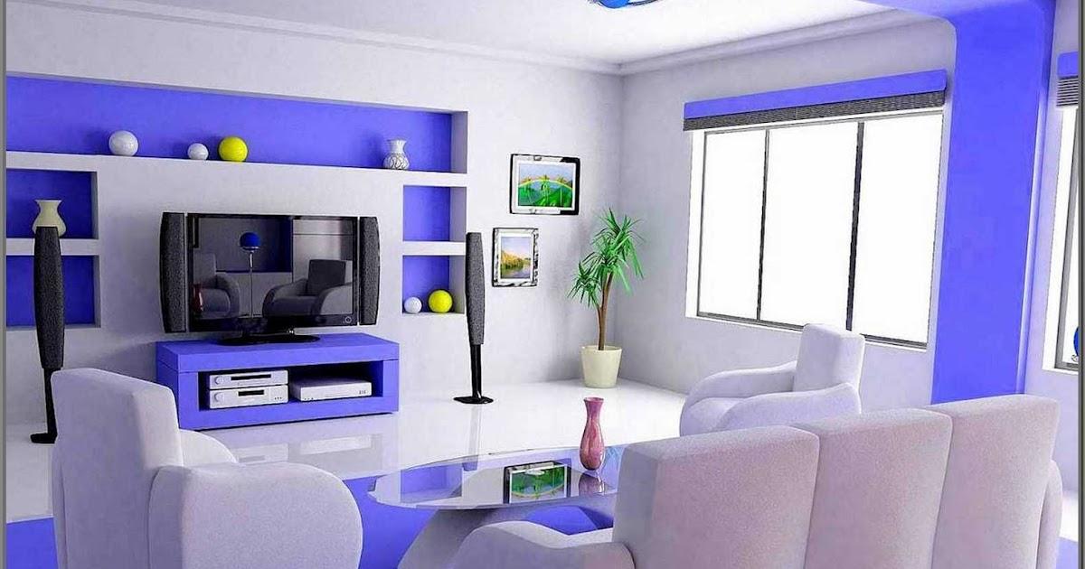 Contoh Warna Cat Rumah Ruang Tamu