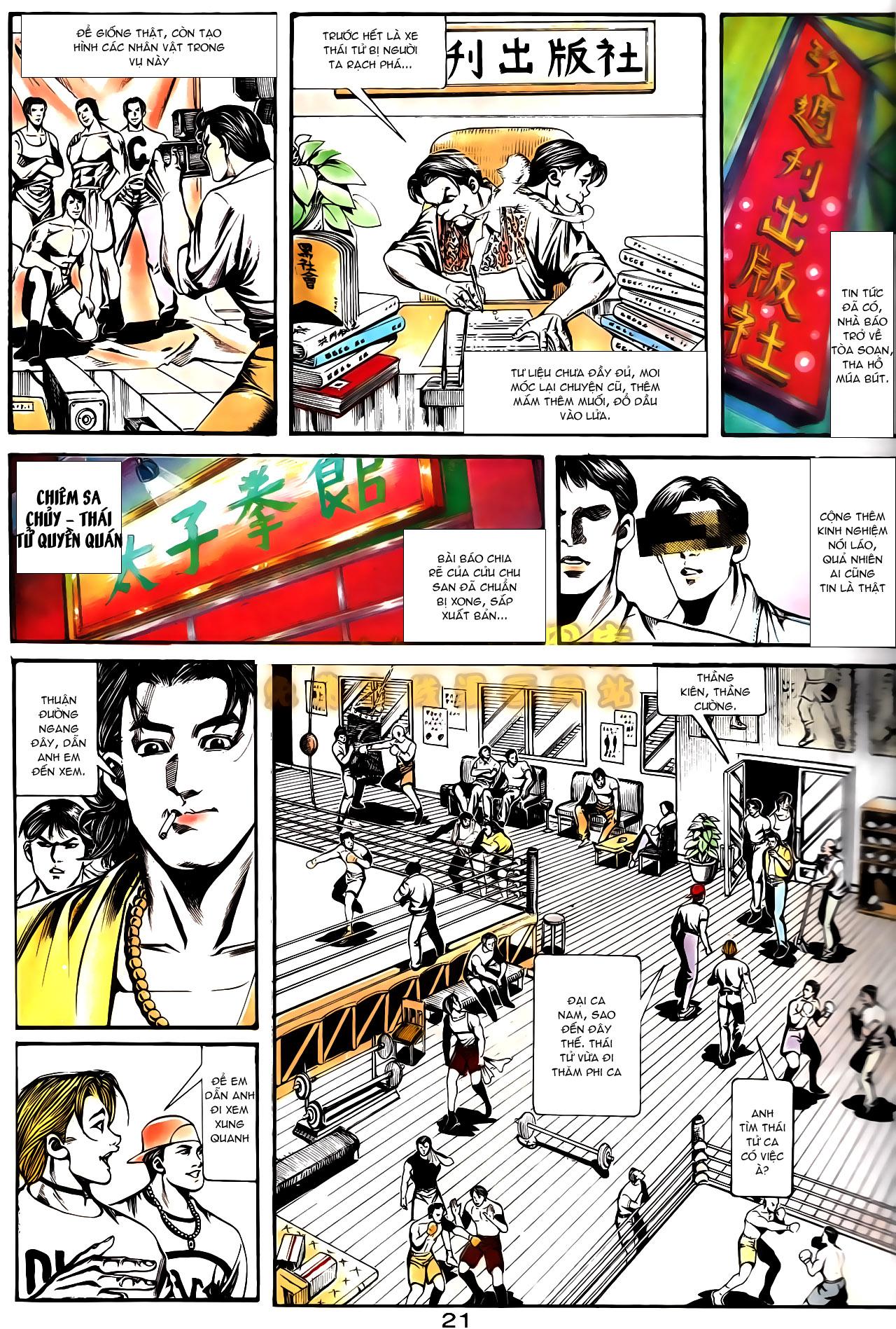 Người Trong Giang Hồ chapter 163: thủ đoạn đòi nợ trang 24