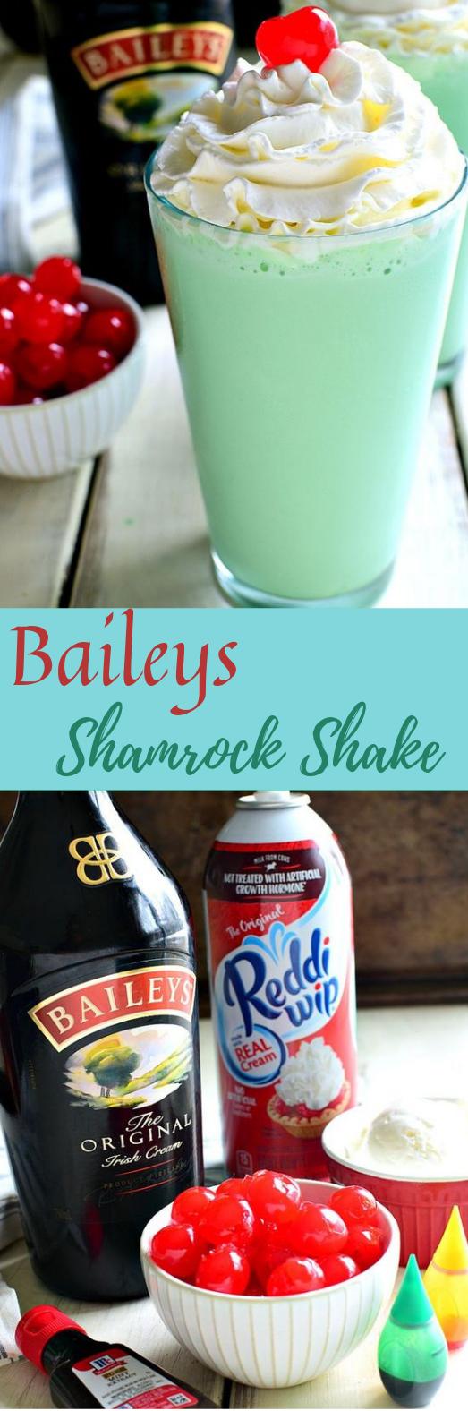 BAILEYS SHAMROCK SHAKE #healthydrink #yummy