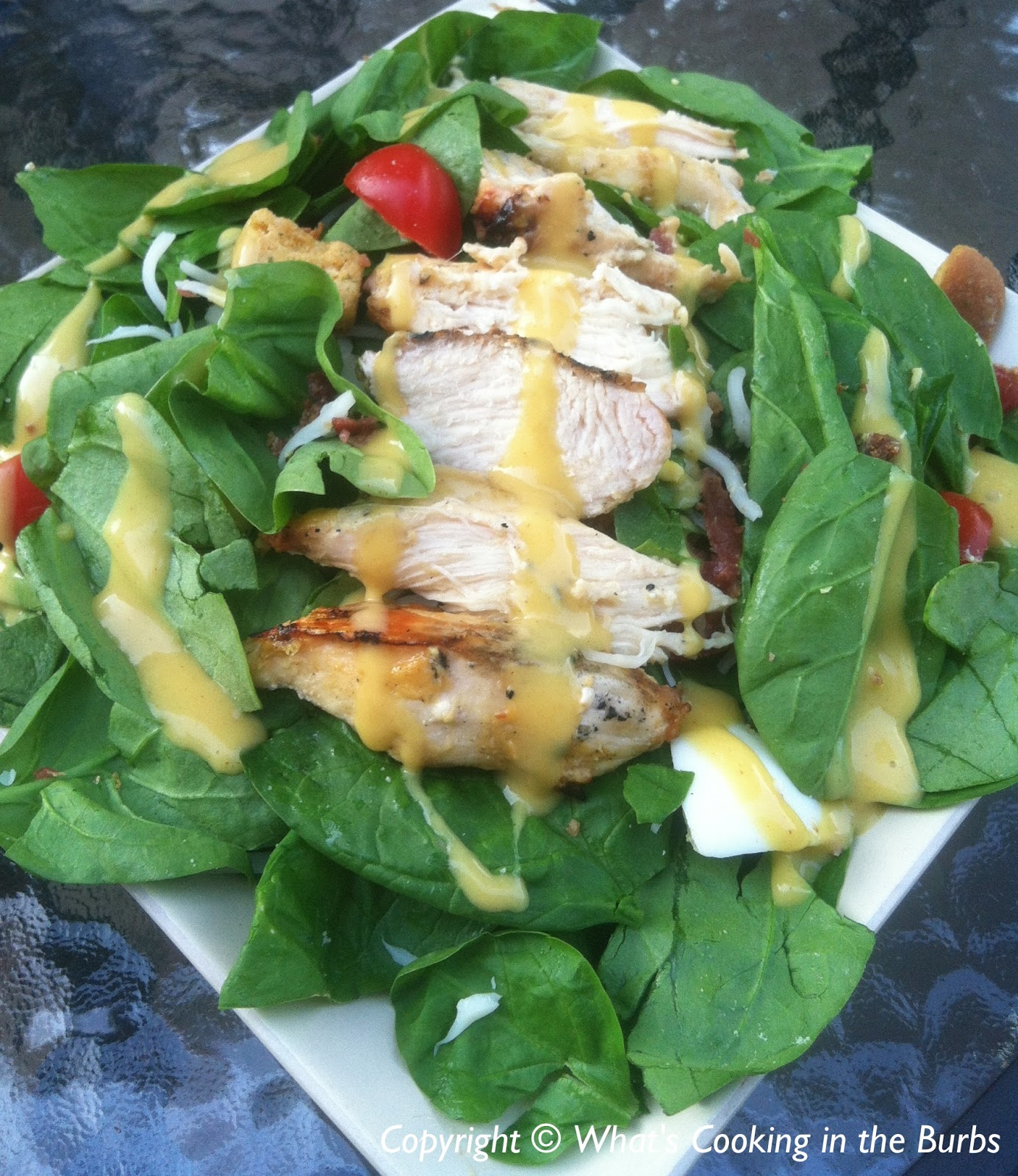 What's Cooking In The Burbs: Grilled Honey Mustard Chicken