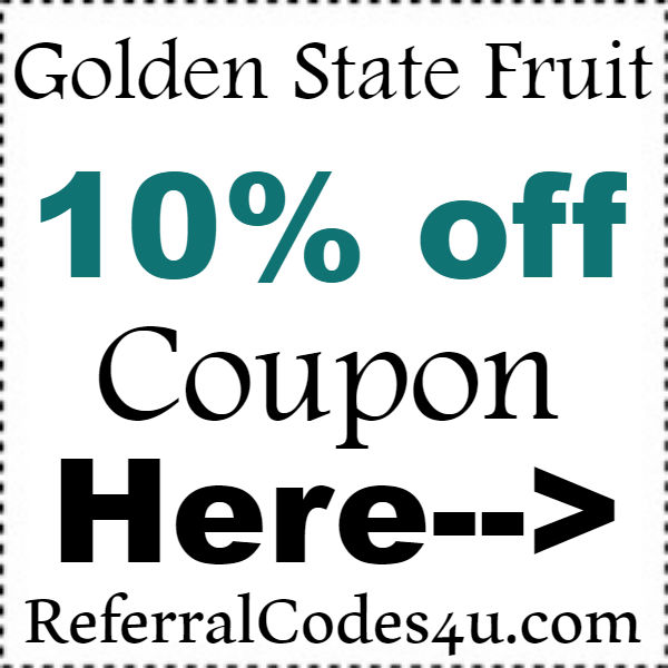 Golden State Fruit Discount Codes 2016-2017, GoldenStateFruit Free Shipping Coupon October, November, December