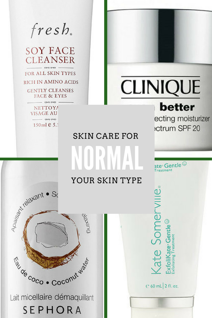 Skin Care For Your Skin Type: Normal
