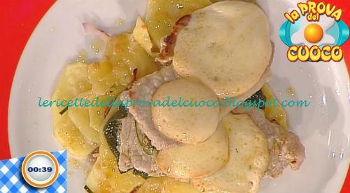 Piccatine di maiale con tortino di patate e scamorza ricetta Improta da Prova del Cuoco