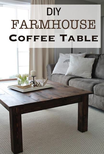 Cara Membuat Coffe Table