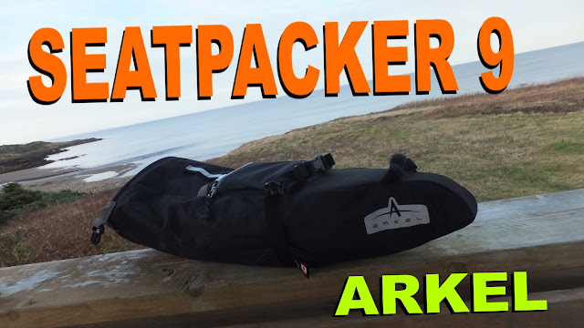 Arkel Seatpacker 9 Bikepacking Fatbike