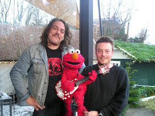 Elmo og Lorenzo fra Baby Woodrose  Thomas Roos