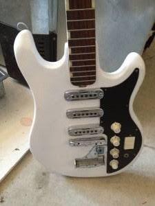 Craigslist Vintage Guitar Hunt Teisco 3 Pickup Electric In Detroit