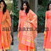 Gouthami in Peach Color long Salwar