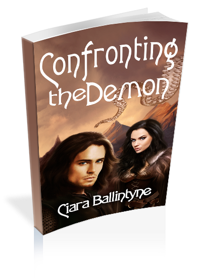 """""""Confronting the Demon"""" - An #IndieVengeanceDay  99¢ High Fantasy Read"""