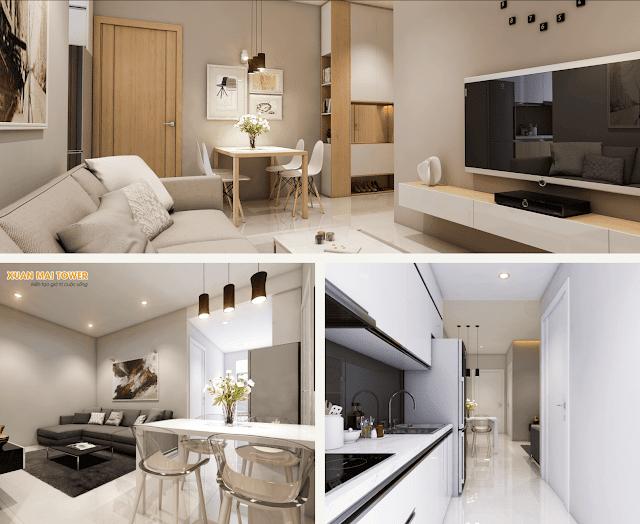 không gian sống hiện đại - ưu điểm vượt trội của dự án Xuân Mai Thanh Hóa