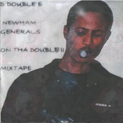 D DOUBLE E - ON THA DOUBLE Mixtape Cover