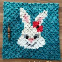 Sassy Bunny C2C Square