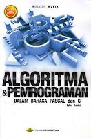 Judul Buku : Algoritma & Pemrograman dalam Bahasa Pascal dan C edisi Revisi