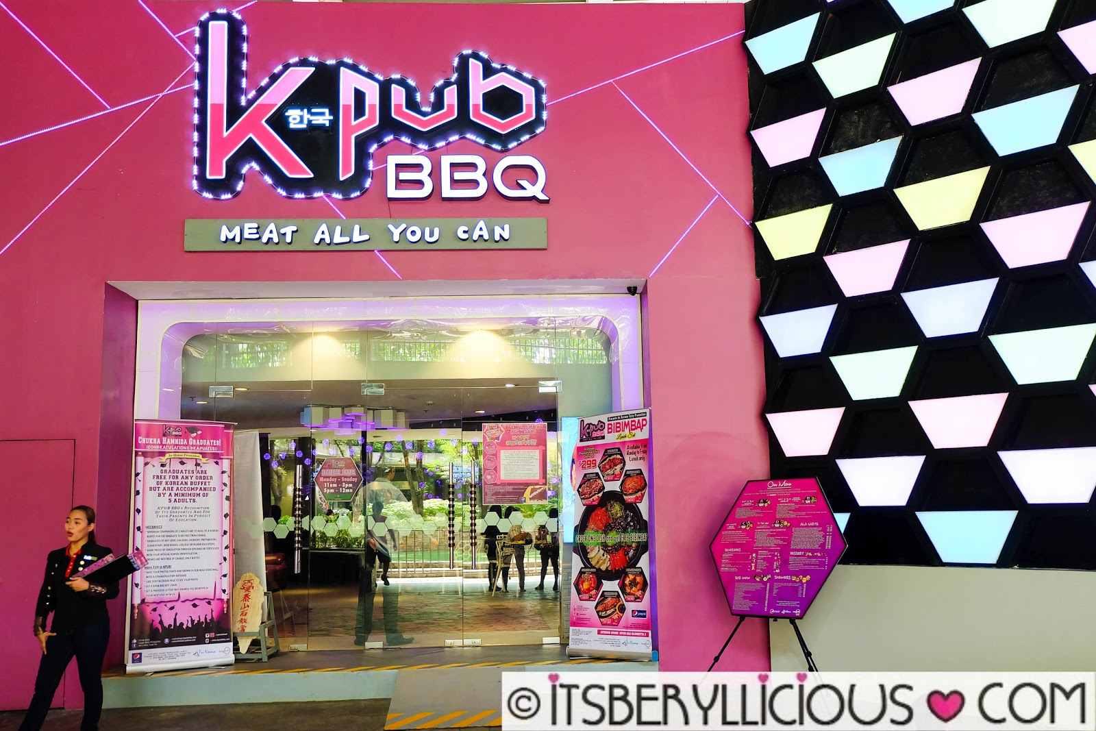 KPub BBQ Meat All You Can- Bibimbap Lunch Set Promo for as