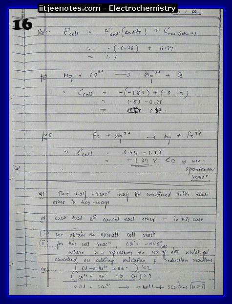 Electrochemistry Notes1