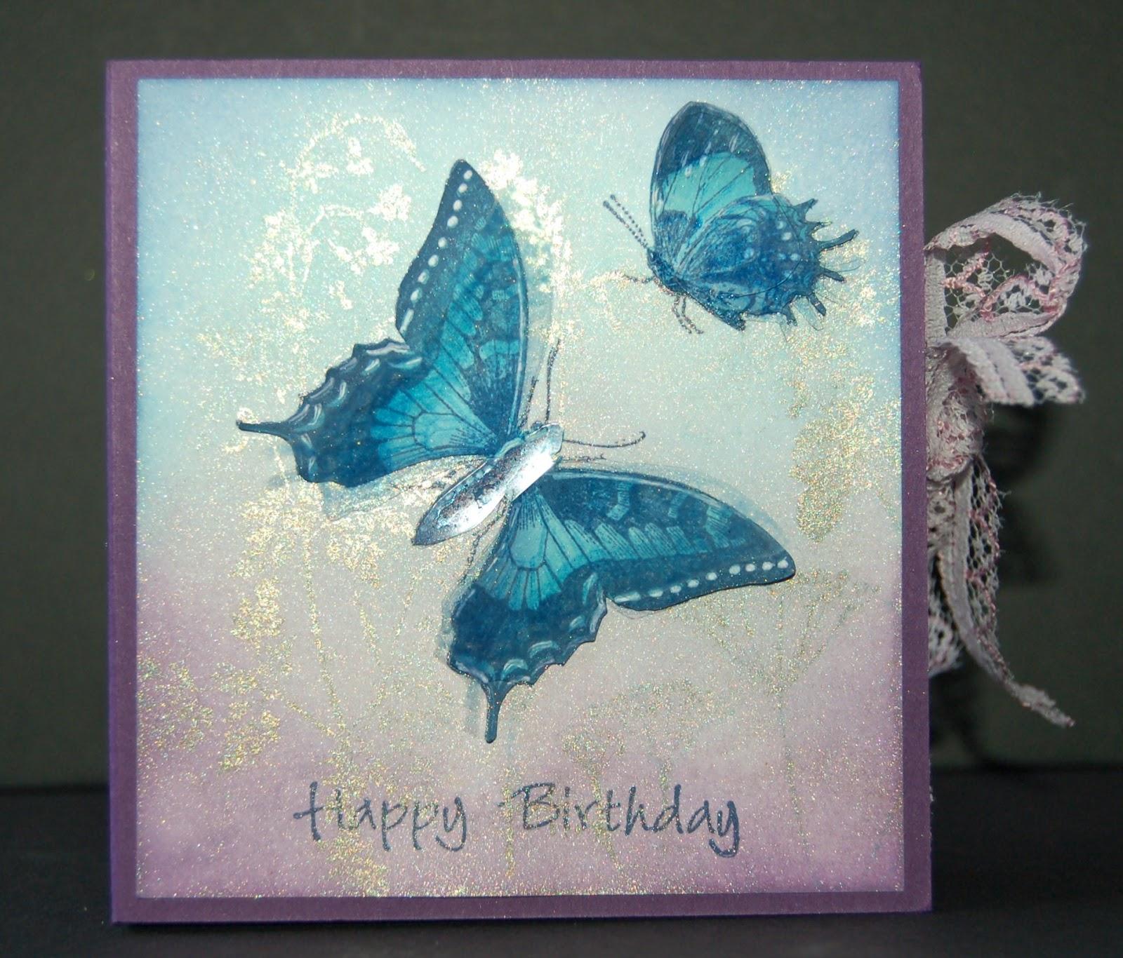 Izzwizz Creations Butterfly Birthday