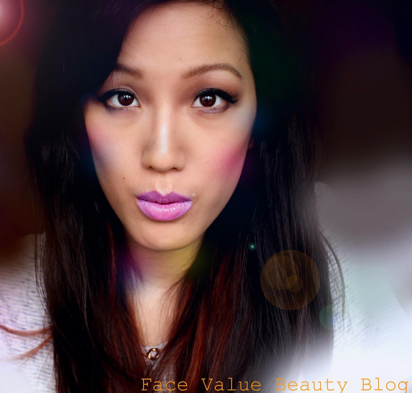 stargazer lilac lipstick jessie j lilac lip beauty makeup review