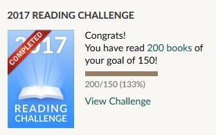 Goodreads - 2017 Reading Challenge #5
