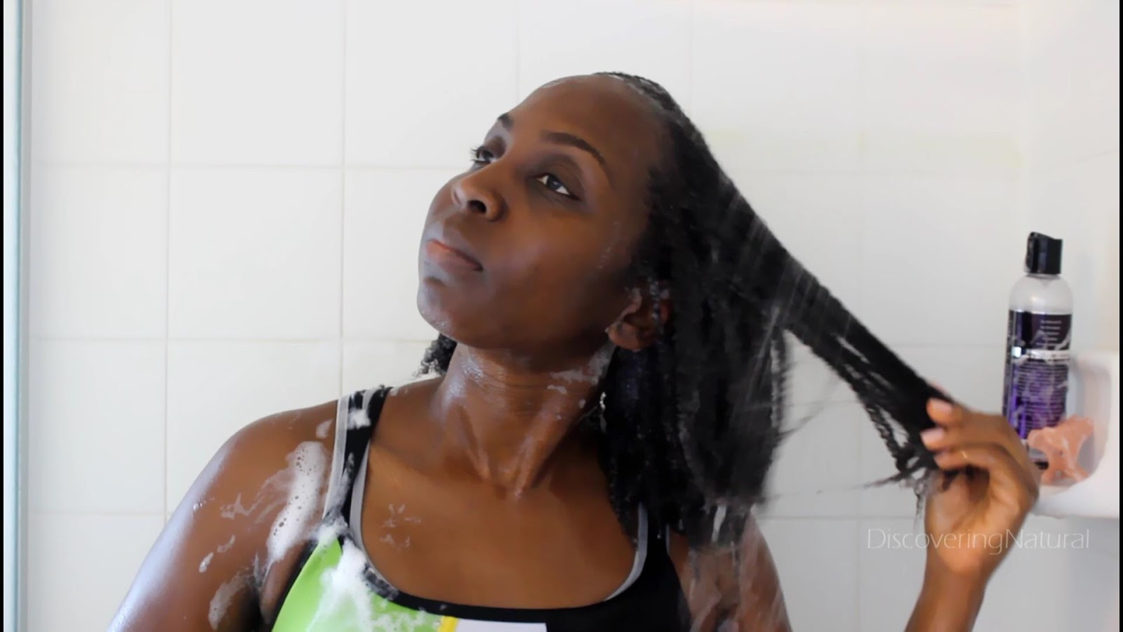 Discoveringnatural Natural Hair Wash Day Routine Using