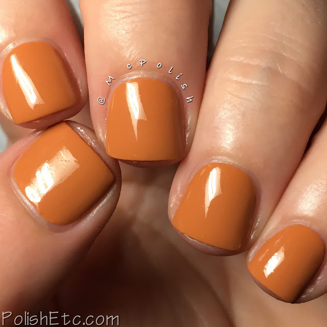 KBShimmer - Fall 2017 Blogger Collaboration Collection - McPolish - Oh My Gourd