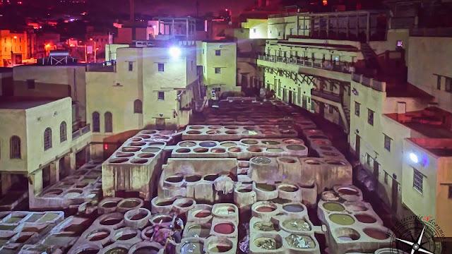 plaza de los curtidores, Fez