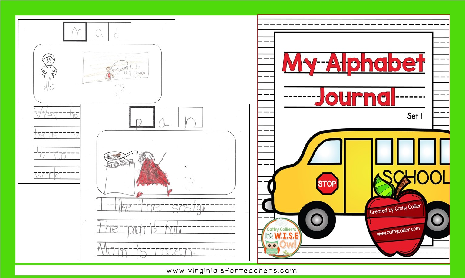 Writing can be challenging at the beginning of first grade. These journals can help students decode, create, and illustrate.