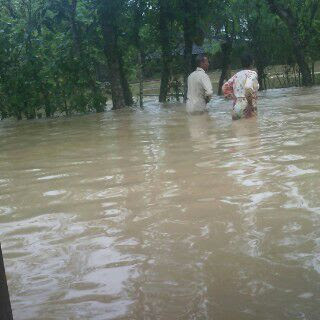 Wilayah Pati Kidul Diterjang Banjir