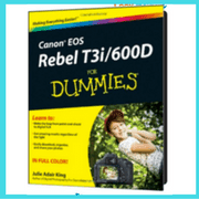 Canon t3i For Dummies