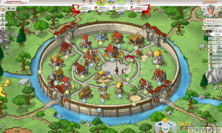 تحميل لعبة Travian Kingdoms للكمبيوتر