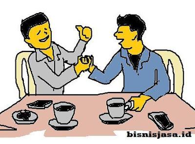 cara mencari relasi bisnis di warug kopi