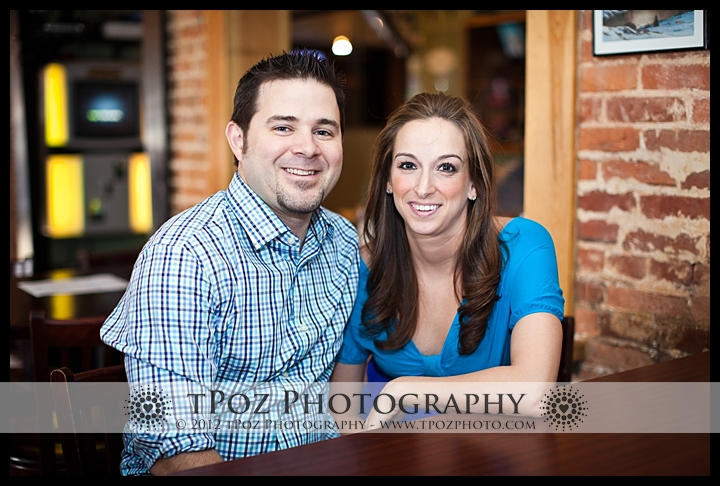 Engagement Session at No Idea Tavern